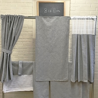 8' Palomino Camper Curtain Set